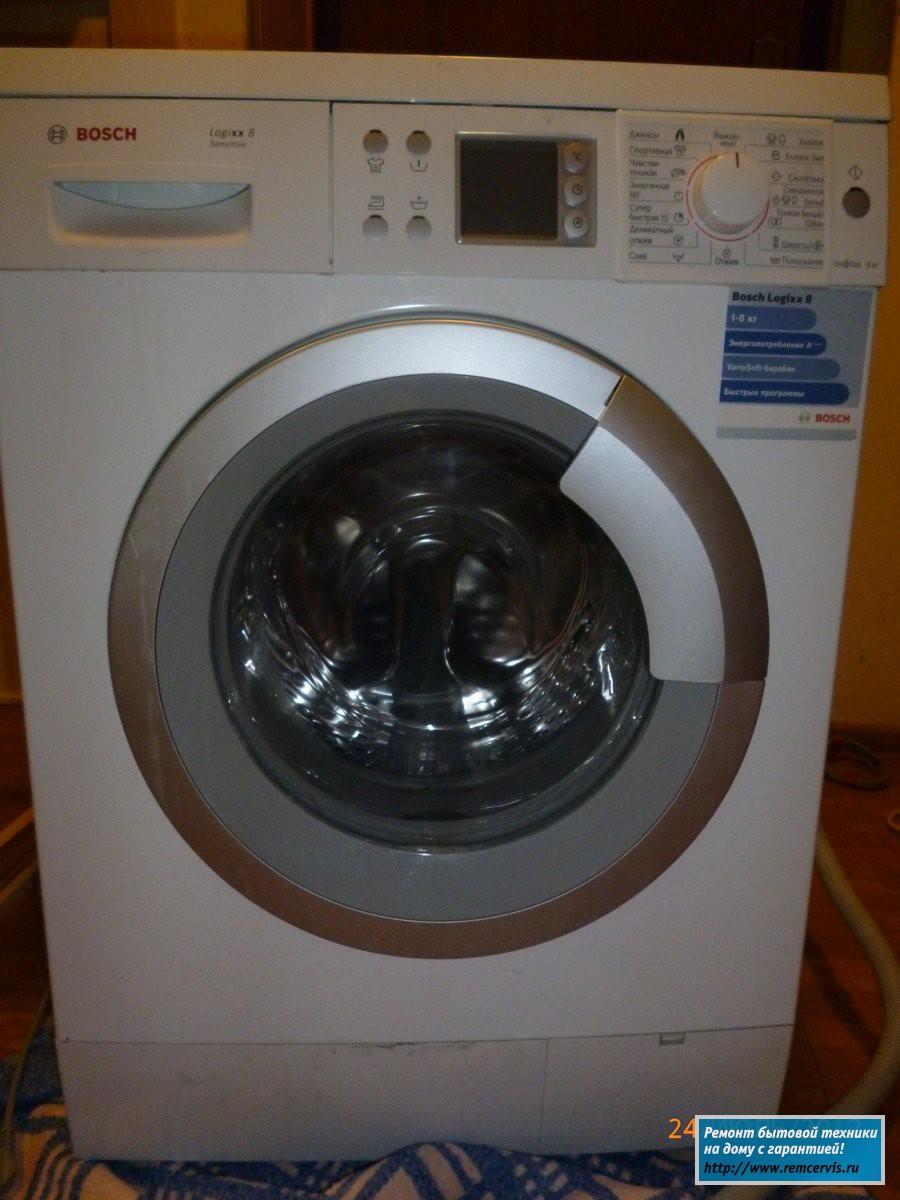 Ремонт стиральных машин bosch своими рукам